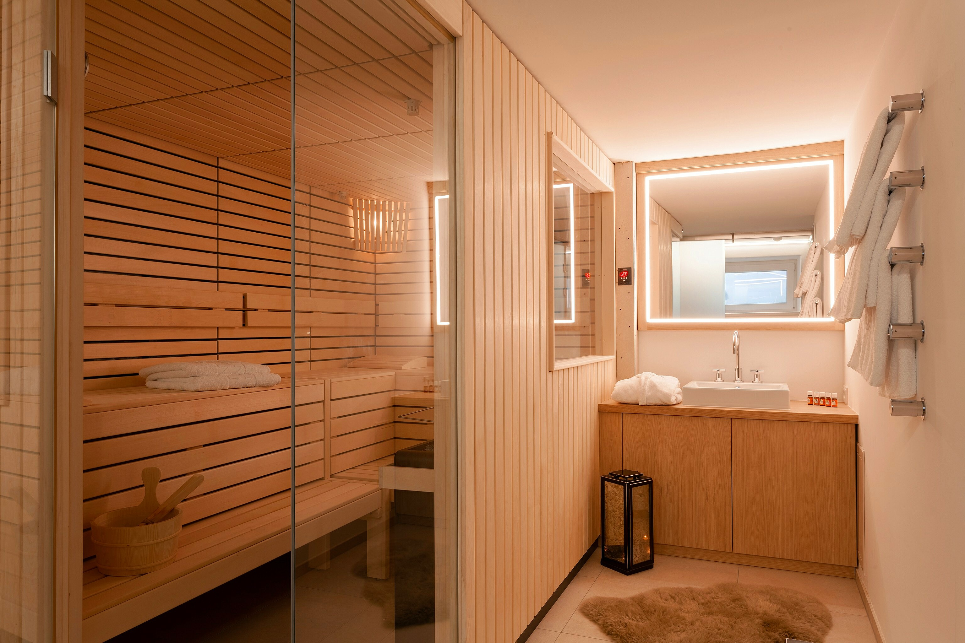 Thurnhers Residences Apartment sauna