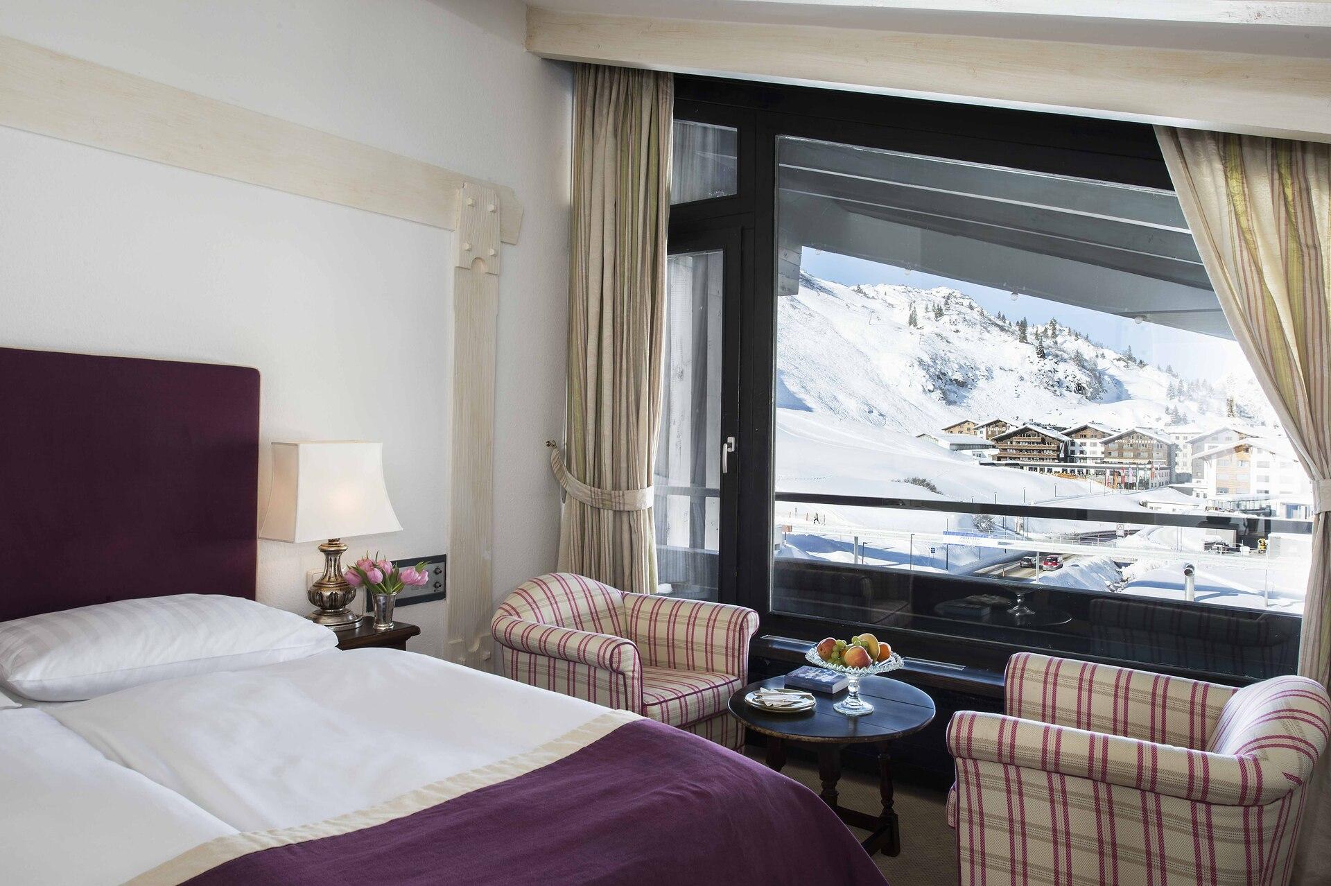 Doppelzimmer Schlafzimmer mit Balkon