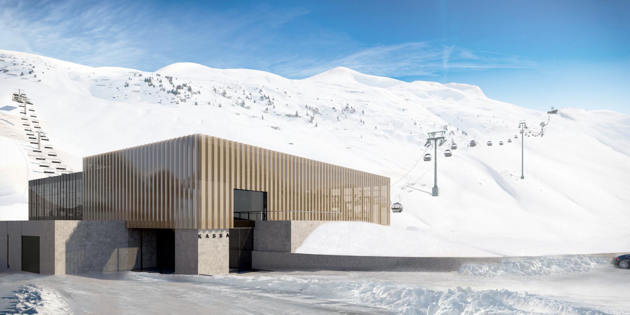lech ski station