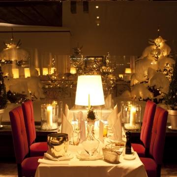 Restaurant-Weihnachtlich