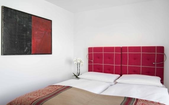 Schlafzimmer der Suite mit 2 Schlafzimmern