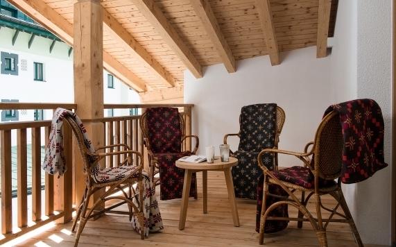 Apartment 5 Balkon