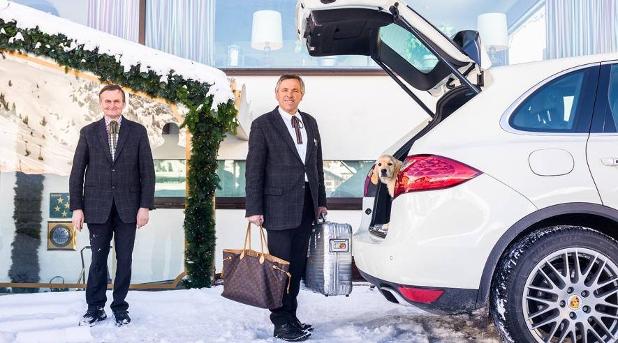 Concierge-Service des Hotels am Arlberg